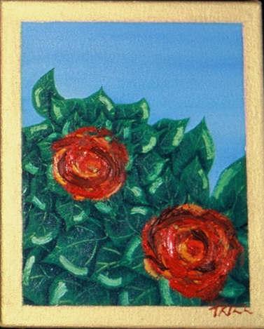 Blue Roses 3 - SOLD