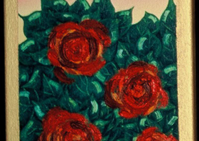 Red Roses 1 - SOLD