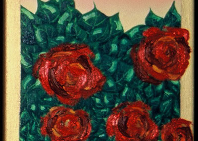 Red Roses 3 - SOLD